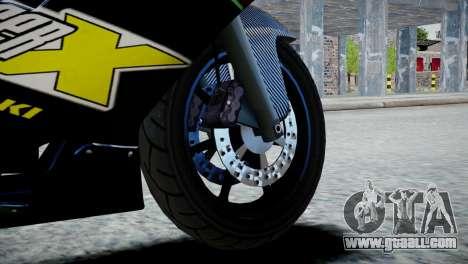 Bike Bati 2 HD Skin 3 for GTA 4 back left view