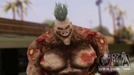 Titan Powered Joker from Batman Arkham Asylum for GTA San Andreas