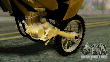 Honda Tornado for GTA San Andreas back view