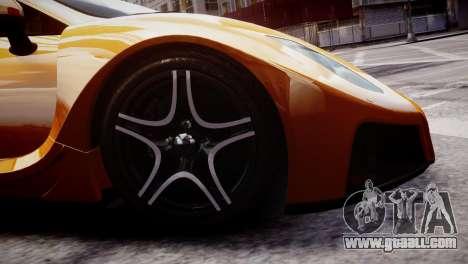 GTA Spano 2013 for GTA 4 back view