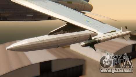 Embraer A-1 AMX FAB for GTA San Andreas