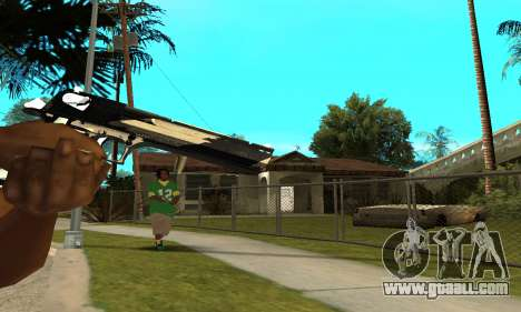 Two Lines Deagle for GTA San Andreas third screenshot
