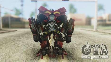 Ironhide Skin from Transformers v1 for GTA San Andreas third screenshot