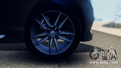 Hyundai Sonata 2015 for GTA San Andreas back view