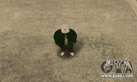 Groove St. Nigga Skin First for GTA San Andreas second screenshot