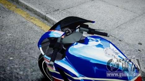 Bike Bati 2 HD Skin 2 for GTA 4 right view