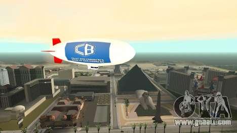 Advertising blimps for GTA San Andreas forth screenshot