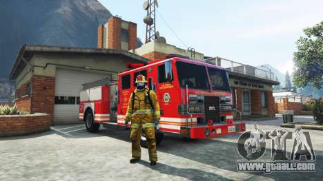 GTA 5 Work in the fire service v1.0-RC1