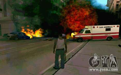 New effects for GTA San Andreas third screenshot