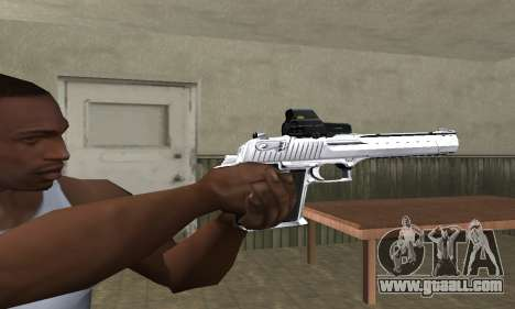 Tiger Deagle for GTA San Andreas second screenshot