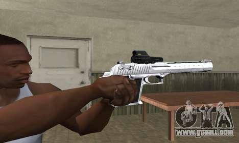 Tiger Deagle for GTA San Andreas second screenshot