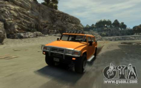 Mammoth Patriot Pickup for GTA 4