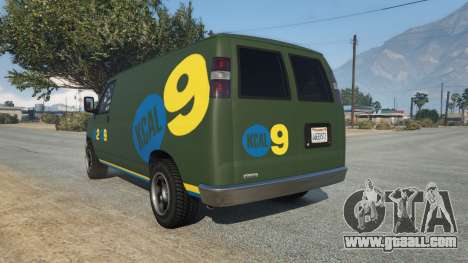 GTA 5 Bravado Rumpo KCAL v0.2 rear left side view