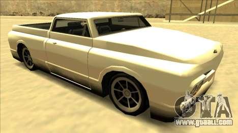 Slamvan Final for GTA San Andreas side view