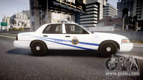 Ford Crown Victoria CNPS [ELS] for GTA 4 left view