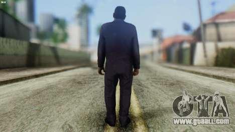 Uborshik Skin from GTA 5 for GTA San Andreas second screenshot