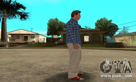 Skin Claude [HD] for GTA San Andreas seventh screenshot