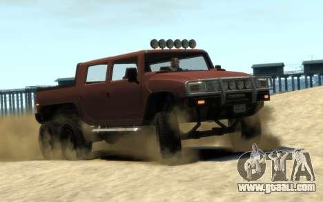Mammoth Patriot 6x6 for GTA 4