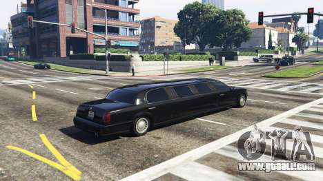 GTA 5 Call limo v0.6b second screenshot