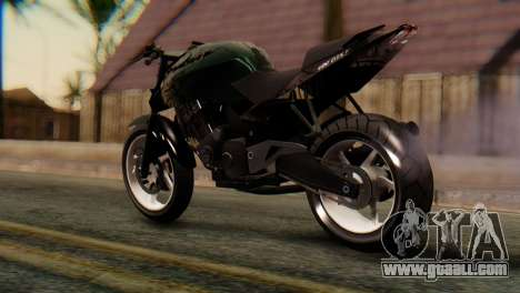 Bajaj Rouser 135 Stunt for GTA San Andreas left view