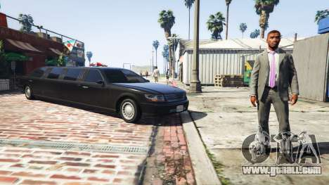 GTA 5 Call limo v0.6b