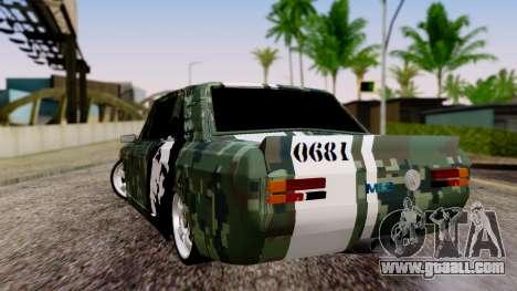 Peykan Javanan Drift for GTA San Andreas left view