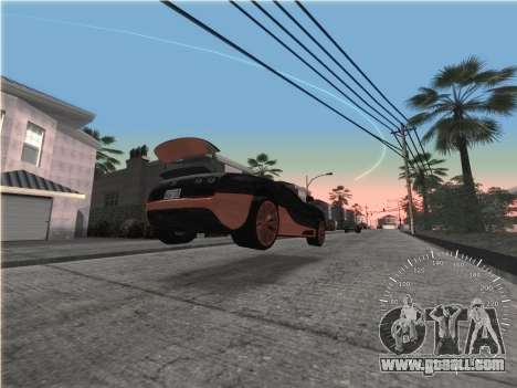 Simple speedometer for GTA San Andreas third screenshot