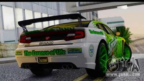 GTA 5 Bravado Buffalo S Sprunk for GTA San Andreas left view