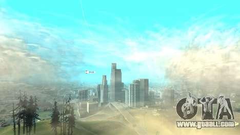 Advertising blimps for GTA San Andreas third screenshot