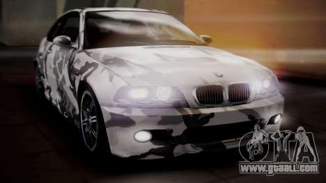 BMW M3 E46 v2 for GTA San Andreas