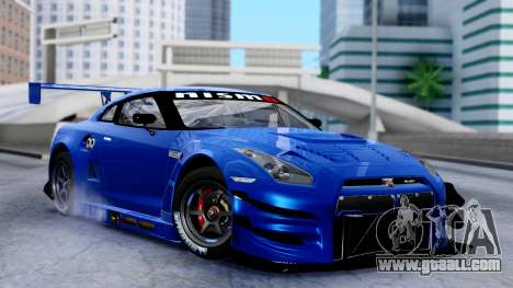 Nissan GT-R (R35) GT3 2012 PJ2 for GTA San Andreas