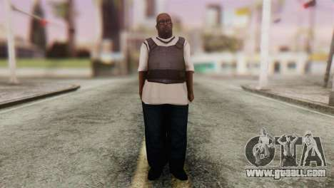 Big Smoke Skin 4 for GTA San Andreas second screenshot