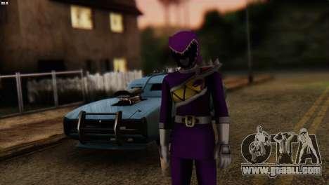 Power Rangers Skin 7 for GTA San Andreas
