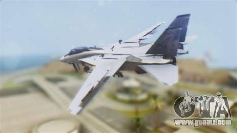 F-14A Tomcat VF-21 Freelancers for GTA San Andreas left view