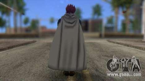 Dragon Ball Xenoverse Mysterious Warrior for GTA San Andreas second screenshot
