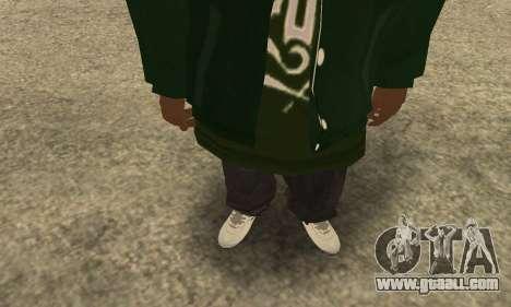 Groove St. Nigga Skin First for GTA San Andreas third screenshot