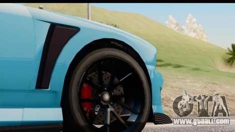 GTA 5 Bravado Buffalo S Sprunk for GTA San Andreas back view