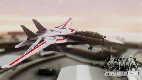 F-14D Tomcat Macross Red for GTA San Andreas
