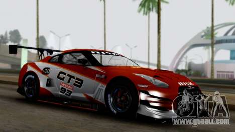 Nissan GT-R (R35) GT3 2012 PJ3 for GTA San Andreas