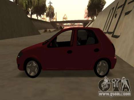 Suzuki Fun 2009 for GTA San Andreas back left view