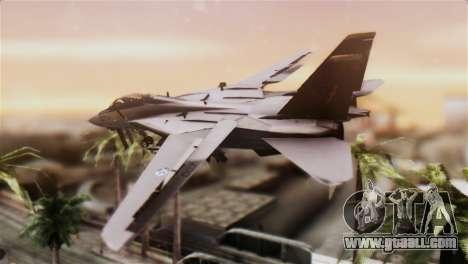 F-14A Tomcat IRIAF for GTA San Andreas left view