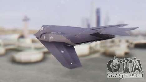 Lockheed F-117 Nighthawk ACAH for GTA San Andreas left view
