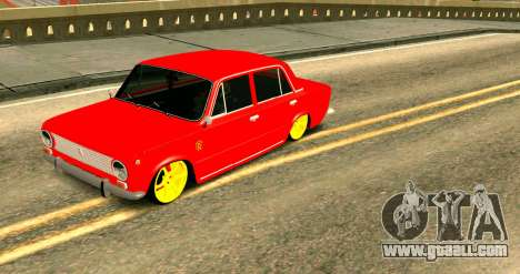 VAZ 2101 MU for GTA San Andreas side view