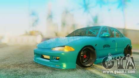 Proton Wira RHBK for GTA San Andreas