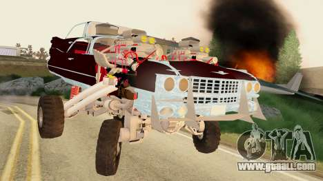 Gigahorse from Mad Max Fury Road for GTA San Andreas