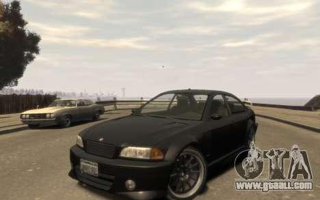 Supremacy Sentinel (XS) 4-door for GTA 4 left view