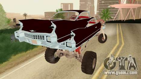 Gigahorse from Mad Max Fury Road for GTA San Andreas left view