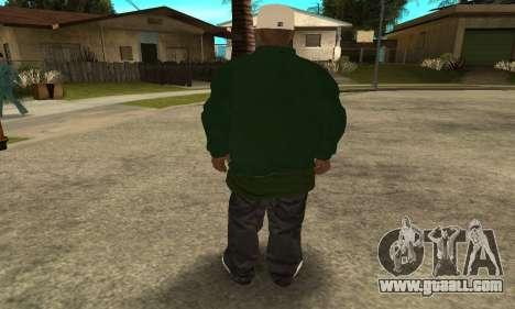 Groove St. Nigga Skin First for GTA San Andreas forth screenshot