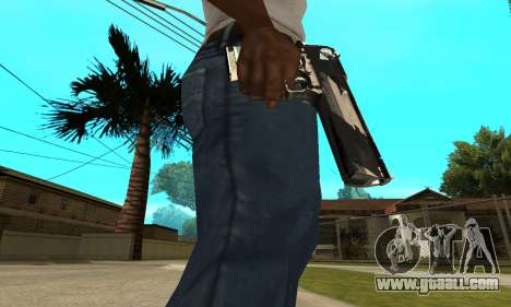 Two Lines Deagle for GTA San Andreas