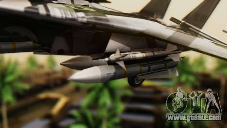 F-14D Super Tomcat VF-2 Bounty Hunters for GTA San Andreas right view
